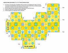 Sonne & Sterne - viele verschiedene Geschenkboxen zum ausschneiden und selbst basteln #DIY #box #template