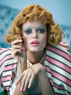 Artistic duo Sandrine Dulermo and Michael Labica turn a strange eye to photography, as they create worlds filled with plastic-like women with color palettes to die for. Having done many photo shoots for celebrities and fashion clients, their photography style is a mix of high-fashion shoots and Hitchcock movie scenes.