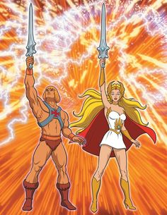 He-Man and She-Ra: A Complete Guide to the Classic Animated Adventures, Limited Edition Masters Of The Universe, Cartoon World, He Man Thundercats, 80s Cartoons, Animation, She Ra, Cartoon, 80s Cartoon Shows, She Ra Princess Of Power