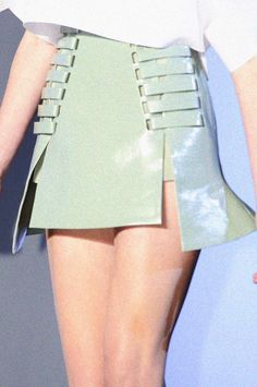 thierry mugler s/s 2013 rtw, detail at paris fashion week