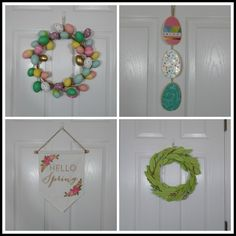 April's Homemaking: Happy Easter 2016 wreaths