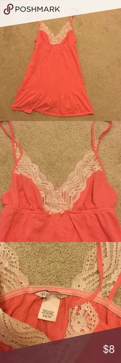 VICTORIA'S SECRET SLEEP XS Size xsmall Was $34 retail price   *** I ALWAYS LIST WITH THE LOWEST PRICE, so PRICE IS FIRM. I WILL NOT ACCEPT OFFERS  *** NO TRADE PLZ  *** I HAVE OVER 50 VS SLEEPS, SO I WANT TO SELL IT QUICKLY   *** 100% AUTHENTIC Victoria's Secret Intimates & Sleepwear Chemises & Slips
