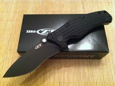 Zero Tolerance Knives Military Folder Knife 154CM Stainless Blade ZT 0200 G-10