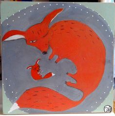 Sleeping foxes by oswald flump, via Flickr