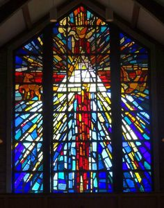 More beautiful stained glass in Trinity Episcopal Church- Baton Rouge.