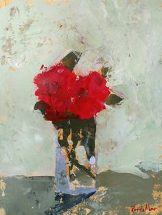Red Floral by Pamela Munger on Artfully Walls