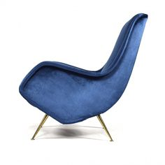 Aldo Morbelli lounge chair for Isa Bergamo, Italy 1950s | #91528