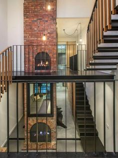 Former produce store in Richmond, Melbourne is mind blowing. The open plan design over several levels, the concrete and timber, the steel and the brick are all classic industrial loft - Desire to Inspire