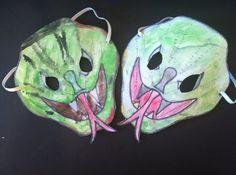 gruselige masken diy ideen halloween masken