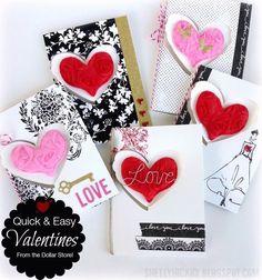 Shelly Hickox using the Pop it Ups Heart Pivot Card and Eiffel Tower dies by Karen Burniston for Elizabeth Craft Designs. - Stamptramp: Easy Pop it Ups Dollar Tree Valentines
