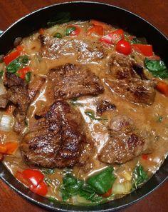 July 1- Beef Sirloin Steak w/Baby Spinach