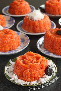 Vietnamese Xôi Gấc - Red Sticky Rice for the new year! My favourite breakfast in Vietnam =) | alimentageuse.com #vietnamese #glutenfree #veg...