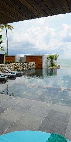 pool villa from casa de la flora on Bang Niang Beach, Khao Lak, Thailand