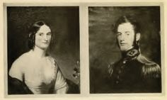 Miss Mary Custis and Lieutenant Robert E. Lee, at the time of their marriage