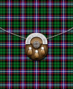 Clan Russell Tartan And Sporran by thecelticflame