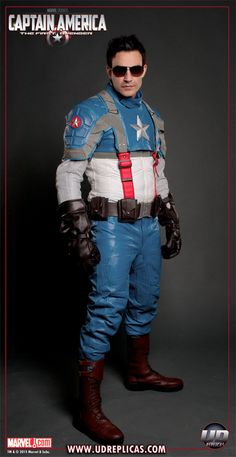I M A Fucking Nerd But This Captain America Motorcycle Suit Is So