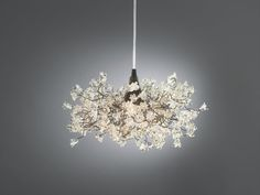 Light Fixture clear Transparent jumping flowers for by yehudalight