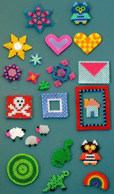 Perler beads crafts by {Amy_Jane}