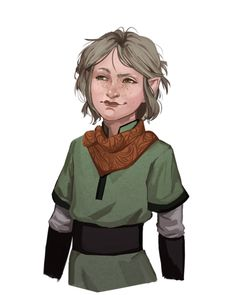 f Halfling Rogue Thief Sad Elf Trash