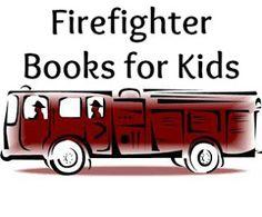 Firefighter books for kids. Firefighter Emt, Group Projects, Fire Fighters, Firetruck, Community Helpers, Fire Engine, Great Books, Fun Learning, Teacher Stuff
