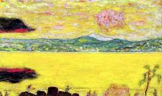 The Gulf at St. Tropez at Sunset, 1937 - Pierre Bonnard