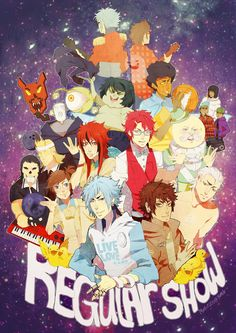 Anime version of Regular Show... I don't even watch the cartoon version but I'd watch this.