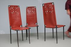 Emery & cie - Furniture - The act of Sitting - Models - Chairs and Stools - Chairs - Rouge