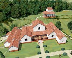 roman villas in britain - Google Search