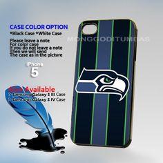 Seattle Seahawks, Photo Hard Plastic iPhone 5 Case Cover   MonggoDiTumbas - Accessories on ArtFire