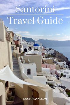 A comprehensive guide for planning a trip to Santorini, Greece including lodging recommendation and practical tips. #santorini #greece #travelguide #traveltips