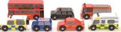 Le Toy Van London car set `One size Age : From 3 years old Wood Conforms to CE standards http://www.comparestoreprices.co.uk/january-2017-7/le-toy-van-london-car-set-one-size.asp