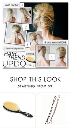 Holiday Beauty: The Perfect Updo Fashion Over 40, Updos, Your Hair, Hair Styles, Holiday, Polyvore, Shopping, Beauty, Fashion Sets