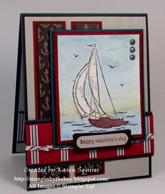 Stampin' By The Bay: FMS21 Sail Away with me
