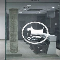 Wall Decal Decor Decals Art Hair Salon Dog Haircut Brush Master Hairstyle Stylist (M945) DecorWallDecals http://www.amazon.com/dp/B00IQNI2L2/ref=cm_sw_r_pi_dp_wKH2ub0SSCHH8