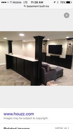 What to do with basement pillars
