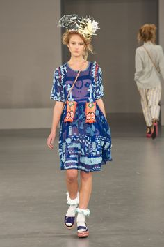 Louise Gray London ss12.  I love the dress - the rest can go.