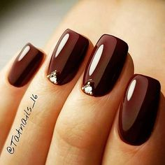 1 2 3 Comment bellow firifashion for more Picture Credit tatnails_. from mfield_edd_price 1 2 3 Comment bellow firifashion for more Picture Credit firifashion , Fancy Nails, Trendy Nails, Cute Nails, My Nails, Burgundy Nail Designs, Elegant Nail Designs, Maroon Nails, Burgundy Nails, Burgundy Color