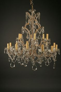 Late 19th century antique french 12 arm bronze and crystal exquisite antiques circa 1890 this classically styled antique crystal chandelier includes many features typical aloadofball Images