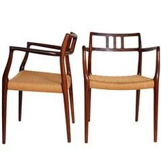 """Pair of Dining Chairs """"Model 79"""""""