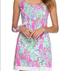 ISO Lilly SC Eaton I am searching for this dress in a 8/10/12!! I will purchase or have HTF prints to trade! Lilly Pulitzer Dresses