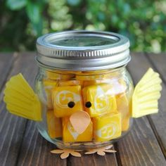 Make a Mason Jar Chick for Spring + 2 other great Spring gifts and printables!