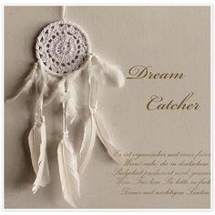 【Dream Catcher / ドリームキャッチャー】ナチュラル レース 仕様 (dc0011)