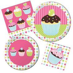 Sweet Treats #Cupcake #Birthday Party Supplies