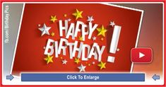 A website that offers happy birthday videos and pictures, to share as free birthday cards Free Birthday Card, Happy Birthday Video, Very Happy Birthday, Birthday Cards, Song Of Style, Video Card, Happy Moments, Our Wedding, Music Videos