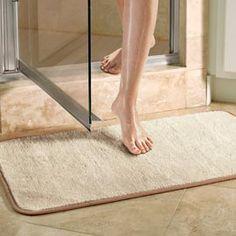 Microfiber Bath Mat, Shower Mat, Bathroom Mat | Solutions