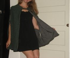 Reversible Cape Coat with Arm Holes | Instructables