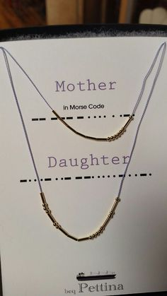 Morse Code Necklace Mother Code Tattoo On Arm Product Wire Jewelry, Jewelry Crafts, Beaded Jewelry, Handmade Jewelry, Beaded Bracelets, Jewelery, Stamped Jewelry, Crystal Jewelry, Necklaces
