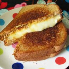 Not your average grilled cheese! Up your game with this one that showcases 4 kinds of cheese.