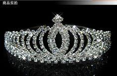 2014 HOT Sale!Crown Tiara Elegant Rhinestone Crystal bridal hair Jewelry Wedding Bride Party-in Hair Jewelry from Jewelry on Aliexpress.com   Alibaba Group