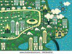 Scene, Illustrations and Photo illustration on Pinterest